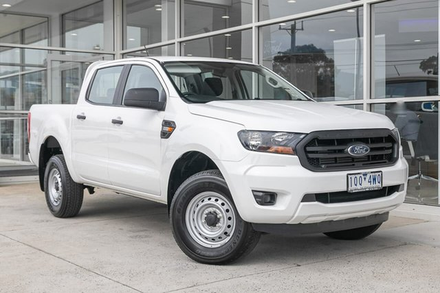Used Ford Ranger PX MkIII 2019.00MY XL Hi-Rider Ferntree Gully, 2019 Ford Ranger PX MkIII 2019.00MY XL Hi-Rider White 6 Speed Sports Automatic Double Cab Pick Up
