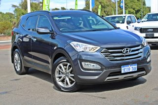2013 Hyundai Santa Fe DM MY13 Elite Blue 6 Speed Sports Automatic Wagon.