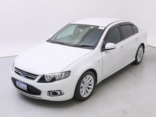 2012 Ford Falcon FG MK2 XT Ecoboost White 6 Speed Automatic Sedan