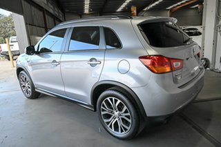 2015 Mitsubishi ASX XB MY15 XLS 2WD Silver 6 Speed Constant Variable Wagon