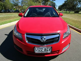 2010 Holden Cruze JG CD Red 6 Speed Automatic Sedan.