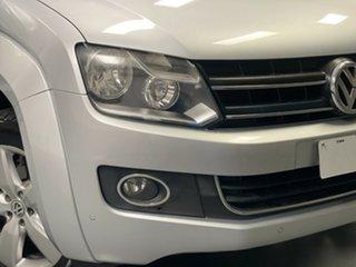 2013 Volkswagen Amarok 2H MY14 TDI420 4Motion Perm Highline Reflex Silver 8 Speed Automatic Utility.