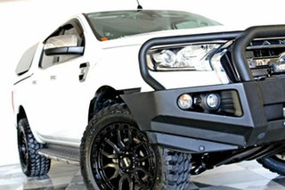 2016 Ford Ranger PX MkII MY17 XLT 3.2 (4x4) White 6 Speed Automatic Double Cab Pick Up.