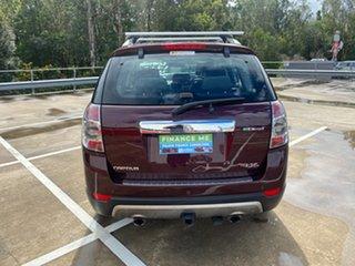 2013 Holden Captiva CG MY13 7 LX (4x4) Maroon 6 Speed Automatic Wagon