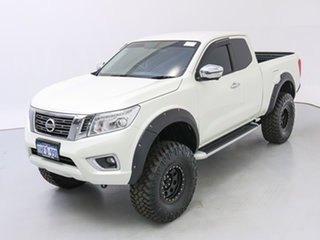 2018 Nissan Navara D23 Series II ST-X (4x4) White 7 Speed Automatic King Cab Utility
