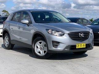 2015 Mazda CX-5 KE1072 Maxx SKYACTIV-Drive Silver 6 Speed Sports Automatic Wagon.