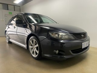 2009 Subaru Impreza MY09 RS (AWD) Grey 4 Speed Automatic Hatchback.