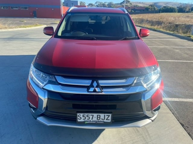 Used Mitsubishi Outlander ZK MY16 LS 2WD Victor Harbor, 2016 Mitsubishi Outlander ZK MY16 LS 2WD Red 6 Speed Constant Variable Wagon