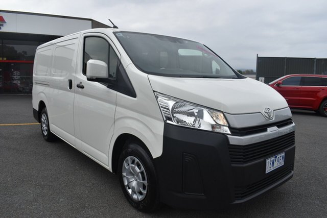 Used Toyota HiAce GDH300R LWB Wantirna South, 2020 Toyota HiAce GDH300R LWB White 6 Speed Sports Automatic Van