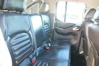 2011 Nissan Navara D40 ST-X 550 (4x4) Black 7 Speed Automatic Dual Cab Utility