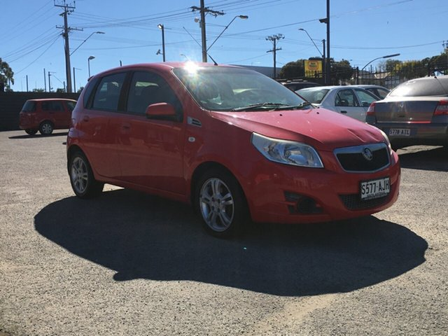 Used Holden Barina TK MY10 Blair Athol, 2010 Holden Barina TK MY10 Red 5 Speed Manual Hatchback