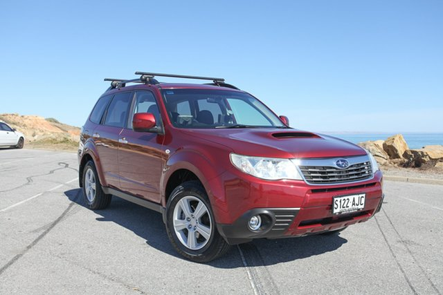 Used Subaru Forester S3 MY10 2.0D AWD Lonsdale, 2010 Subaru Forester S3 MY10 2.0D AWD Red 6 Speed Manual Wagon