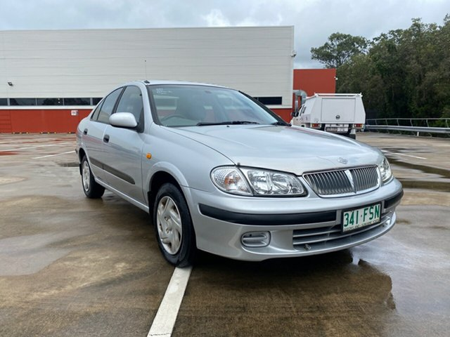 Used Nissan Pulsar N16 ST Morayfield, 2000 Nissan Pulsar N16 ST Silver 4 Speed Automatic Sedan