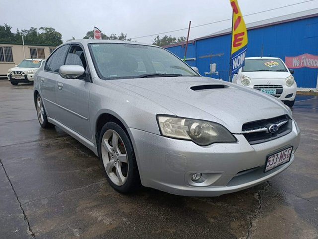 Used Subaru Liberty B4 MY05 Luxury Series AWD Clontarf, 2005 Subaru Liberty B4 MY05 Luxury Series AWD Silver 4 Speed Sports Automatic Sedan
