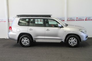 2011 Toyota Landcruiser VDJ200R 09 Upgrade GXL (4x4) Silver Pearl 6 Speed Automatic Wagon