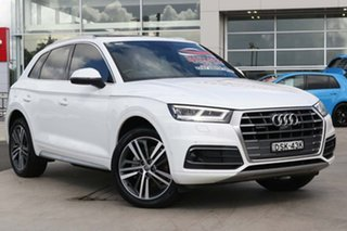 2017 Audi Q5 FY MY18 TDI S Tronic Quattro Ultra Sport White 7 Speed Sports Automatic Dual Clutch.