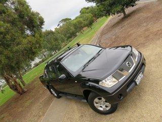 2010 Nissan Navara D40 ST Black 6 Speed Manual Utility.