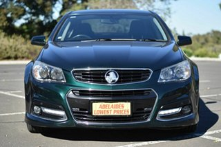 2014 Holden Commodore VF MY14 SS V Green 6 Speed Sports Automatic Sedan.