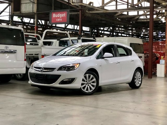 Used Opel Astra AS Select Mile End South, 2012 Opel Astra AS Select White 6 Speed Sports Automatic Hatchback