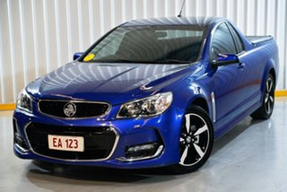 2016 Holden Ute VF II MY16 SV6 Ute Blue 6 Speed Sports Automatic Utility.