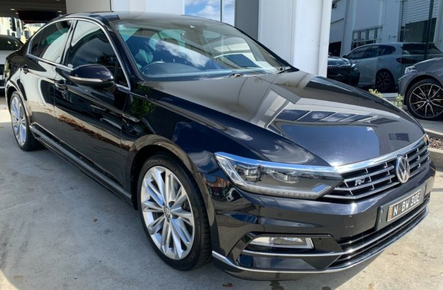 Used Volkswagen Passat 3C (B8) MY17 206TSI DSG 4MOTION R-Line Newcastle West, 2017 Volkswagen Passat 3C (B8) MY17 206TSI DSG 4MOTION R-Line Black 6 Speed