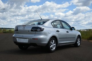 2008 Mazda 3 BK MY08 Neo Sport Silver 4 Speed Auto Activematic Sedan