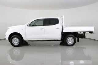 2017 Nissan Navara D23 Series II RX (4x4) White 7 Speed Automatic Double Cab Chassis