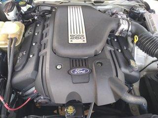 2004 Ford Falcon BA XR8 White 5 Speed Manual Sedan