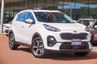 2021 Kia Sportage QL S White Sports Automatic SUV.