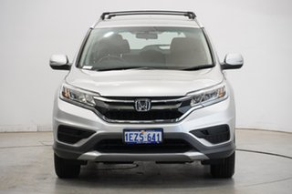 2016 Honda CR-V RM Series II MY17 VTi Silver 6 Speed Manual Wagon.