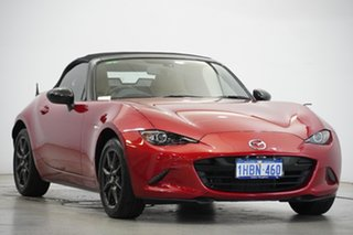 2015 Mazda MX-5 ND SKYACTIV-MT Red 6 Speed Manual Roadster