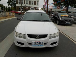 2006 Holden Commodore VZ Executive White 4 Speed Automatic Wagon.