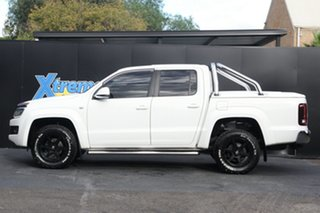2016 Volkswagen Amarok 2H MY16 TDI400 4Mot White 6 Speed Manual Utility