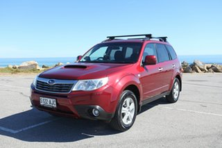 2010 Subaru Forester S3 MY10 2.0D AWD Red 6 Speed Manual Wagon