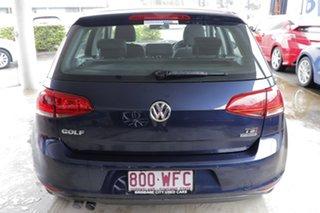 2013 Volkswagen Golf VII MY14 90TSI DSG Comfortline Night Blue 7 Speed Sports Automatic Dual Clutch