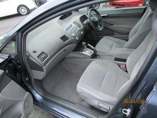 2008 Honda Civic MY07 VTi Grey 5 Speed Automatic Sedan