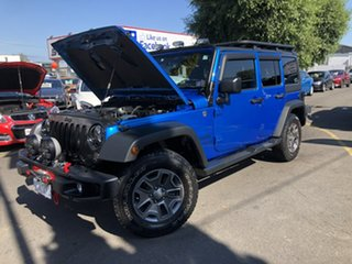 2015 Jeep Wrangler JK MY2015 Unlimited Sport Blue 5 Speed Automatic Softtop