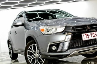 2018 Mitsubishi ASX XC MY18 LS (2WD) Grey Continuous Variable Wagon.