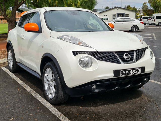 Used Nissan Juke F15 MY14 Ti-S AWD Nailsworth, 2014 Nissan Juke F15 MY14 Ti-S AWD White 1 Speed Constant Variable Hatchback