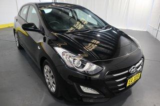 2016 Hyundai i30 GD4 Series II MY17 Active Black 6 Speed Sports Automatic Hatchback.