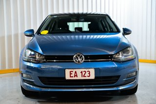 2015 Volkswagen Golf VII MY15 103TSI DSG Highline Blue 7 Speed Sports Automatic Dual Clutch