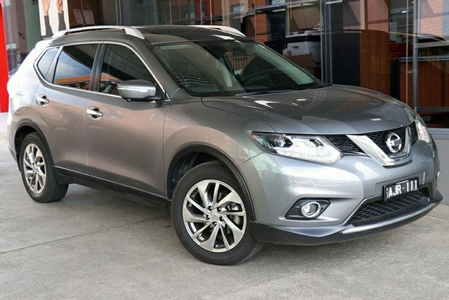 Pre-Owned Nissan X-Trail T32 Ti X-tronic 4WD Preston, 2016 Nissan X-Trail T32 Ti X-tronic 4WD Grey 7 Speed Constant Variable Wagon
