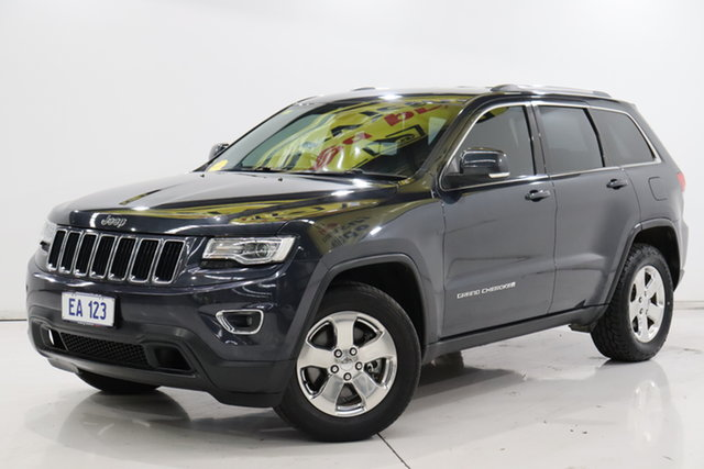 Used Jeep Grand Cherokee WK MY2014 Laredo Brooklyn, 2014 Jeep Grand Cherokee WK MY2014 Laredo Blue 8 Speed Sports Automatic Wagon