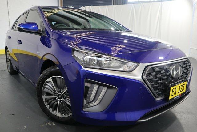 Used Hyundai Ioniq AE.3 MY20 Hybrid Elite Castle Hill, 2020 Hyundai Ioniq AE.3 MY20 Hybrid Elite Blue 6 Speed Auto Dual Clutch Hatchback