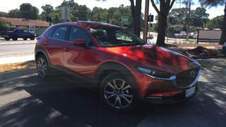 2021 Mazda CX-30 DM4WLA G25 SKYACTIV-Drive i-ACTIV AWD Astina Soul Red 6 Speed Sports Automatic.