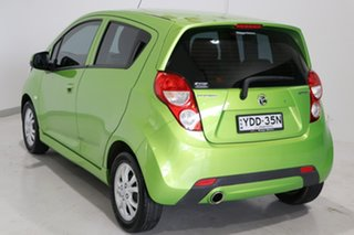 2015 Holden Barina Spark MJ MY15 CD Green 5 Speed Manual Hatchback.
