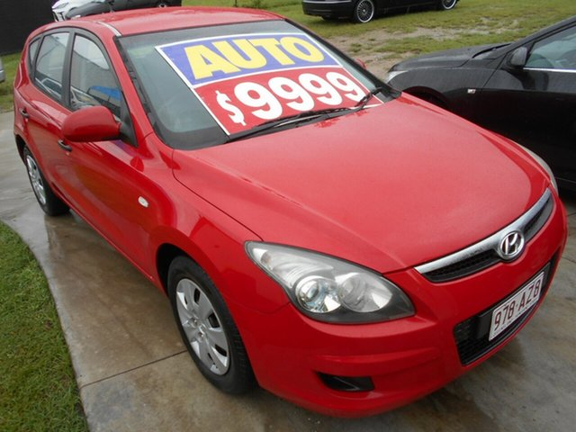 Used Hyundai i30 FD MY11 SX Springwood, 2011 Hyundai i30 FD MY11 SX Red 4 Speed Automatic Hatchback