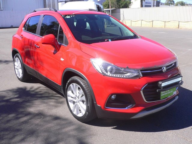 Used Holden Trax TJ MY18 LT St Marys, 2018 Holden Trax TJ MY18 LT Red 6 Speed Automatic Wagon