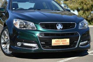2014 Holden Commodore VF MY14 SS V Green 6 Speed Sports Automatic Sedan