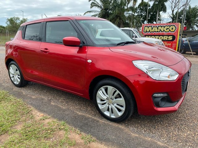 Used Suzuki Swift AZ GL Navigator Pinelands, 2017 Suzuki Swift AZ GL Navigator Red 1 Speed Constant Variable Hatchback